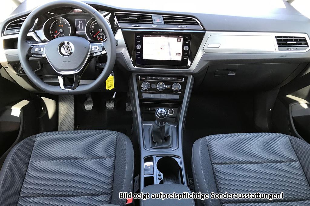 volkswagen touran comfortline :neu euro6d-temp+ acc+ radiomedia+ 3z