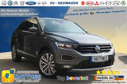 Volkswagen T-Roc      Style :Klimaaut.  Parkhilfe  Radio  LaneAsst.