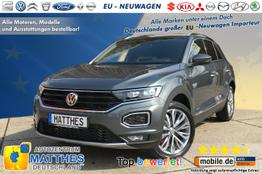 Volkswagen T-Roc - Sport :Handy-NAVIGATION   WinterPak  LED  17""