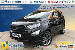 Ford EcoSport - ST-Line :Handy-NAVIGATION    Teilleder  Parkhil
