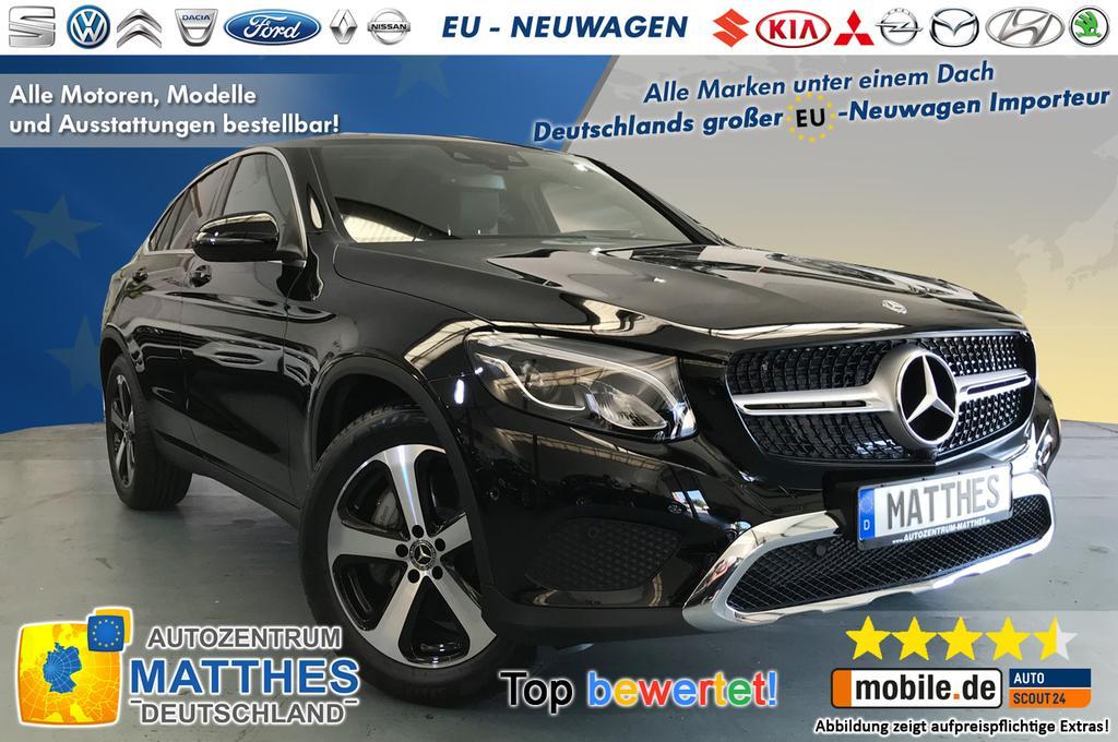 mercedes-benz glc 220 - coupe :leder - und viele weitere autos als
