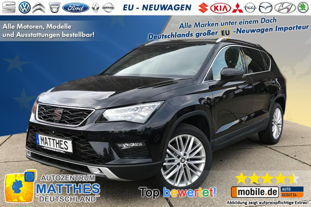 seat ateca xcellence plus navi panorama winterpak topview full led kli und viele weitere. Black Bedroom Furniture Sets. Home Design Ideas