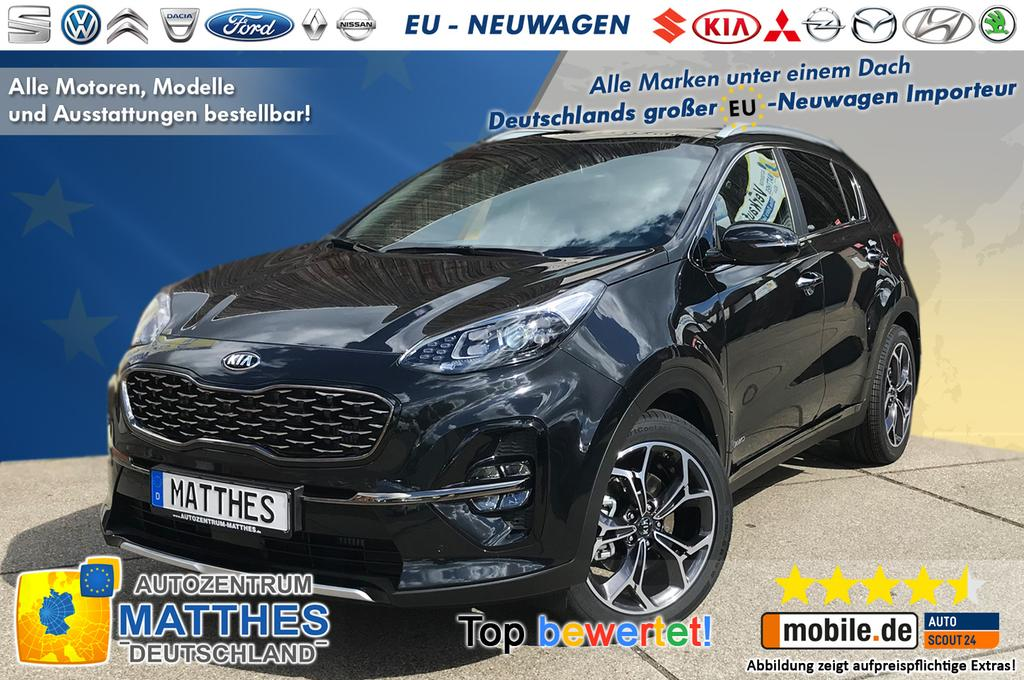 kia sportage facelift 2019 gt line plus neu euro6d. Black Bedroom Furniture Sets. Home Design Ideas