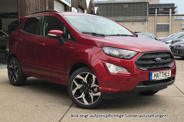 "Bestellfahrzeug, konfigurierbar Ford EcoSport - ST-Line :Radio  Klimaaut.  Parkhilfe  17"" Alu  Tempomat"