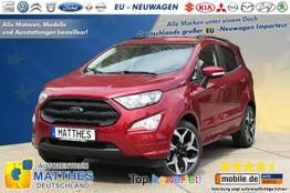 Ford EcoSport (AKTION!) - Titanium :Teilleder  Radio  Klimaaut.  Kamera  Parkhilfe v/h