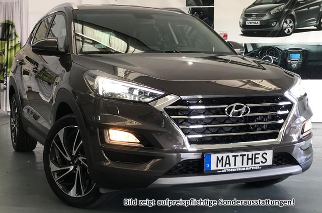 Hyundai Tucson - Premium :NEU EURO6d-TEMP+ 2019+ Pano+ Leder+ 19