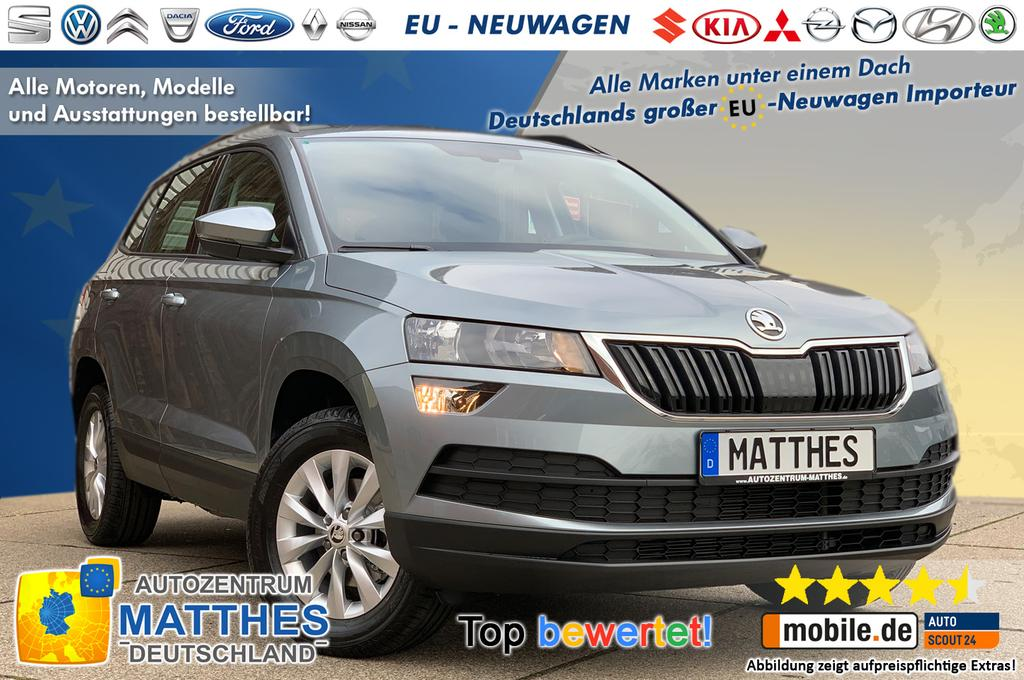 skoda karoq ambition neu euro6d temp handy navigation. Black Bedroom Furniture Sets. Home Design Ideas