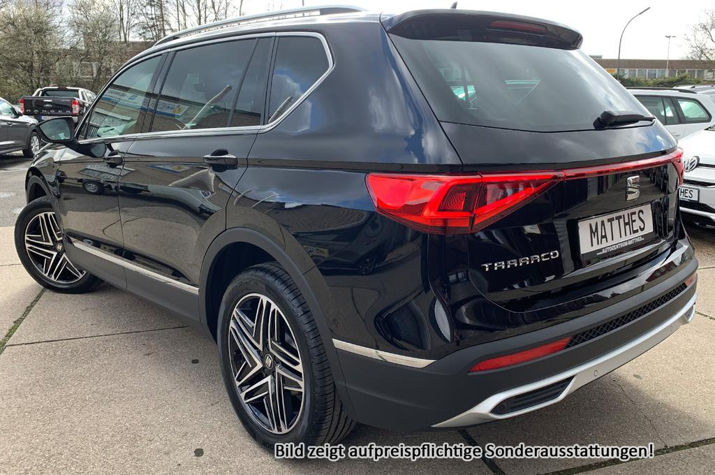 seat tarraco xcellence parkasst 19 alu klimaauto. Black Bedroom Furniture Sets. Home Design Ideas