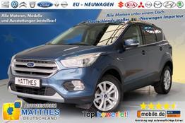 """Ford Kuga - AZM Titanium Edt.:SOFORT/ nur diese Woche / begrenzte Stückzahl StylePaket  StartKnopf  Dachreling  17"""" Alu"""