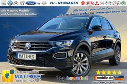 Volkswagen T-Roc - Sport :Parkhilfe v/h  Klimaaut.  RadioMedia