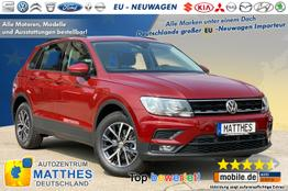 vw tiguan aktion