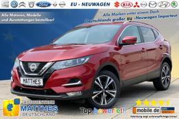 "Nissan Qashqai (AKTION!)      Tekna :Panorama  LED  Teilleder  19"""