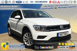 """Volkswagen Tiguan (Aktion!) - Comfortline :PDC v/h  17""""Alu  ACC  Klima."""