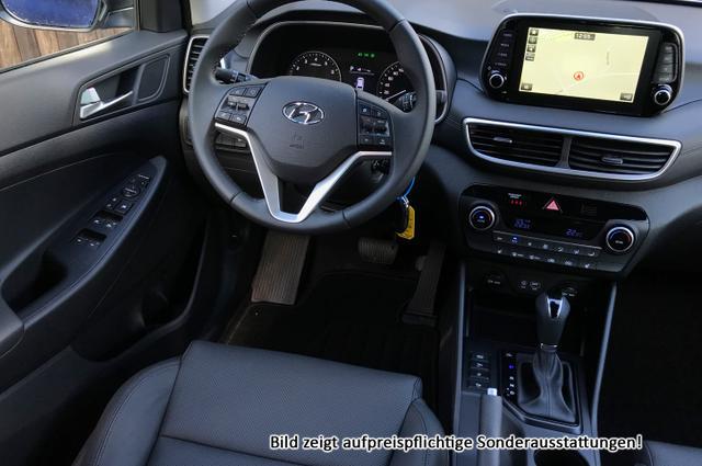 "Hyundai Tucson Premium :SOFORT+ NAVI+ Winter Paket+ Parkhilfe+ 19"""