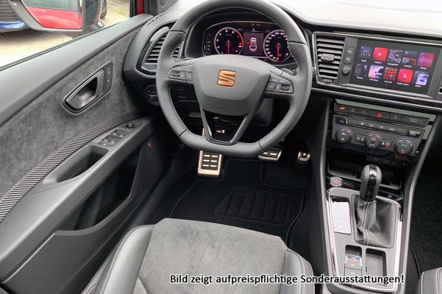 "Seat Leon Sportstourer ST Cupra :Panorama+ NAVI+ Voll LED+ BEATS+ 19""+ Alcantara+ WinterPa +300 PS + DSG+ 4x4"