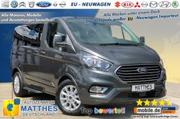 "Ford Tourneo Custom Shuttle Bus - Trend L2H1 :PDC v/h  LED Tag.  Tempomat  16"" Alu  Bluetooth"
