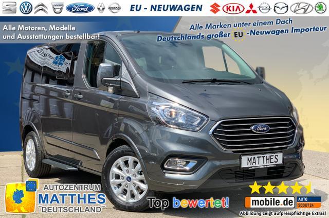 "Bestellfahrzeug, konfigurierbar Ford Tourneo Custom - Trend L1H1 :Pdc v/h  LED Tag.  Tempomat 16"" Alu  Bluetooth"