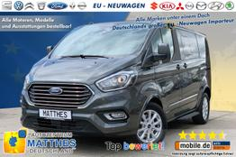 "Ford Tourneo Custom Bus      Trend L1H1 :Pdc v/h  LED Tag.  Tempomat 16"" Alu  Bluetooth"