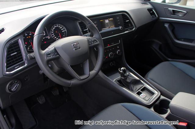 Seat Ateca Style :SOFORT+ Handy-NAVIGATION*+ WinterPak+ BlackDesign+ Parkhi