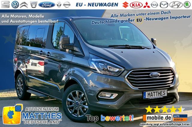"Bestellfahrzeug, konfigurierbar Ford Tourneo Custom - Titanium X L2H1: NAVI  Kamera  XenonSW  WinterPak  Vollleder 17"""