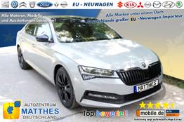 "Skoda Superb Limousine      Ambition :NAVIGATIONSFUNKTION   LED  E-Heck  16"" Alu  PD"