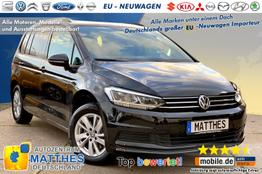 """Volkswagen Touran      Highline :7Sitzer  WinterPak  Klimaaut.  16""""Alu"""