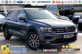 "Volkswagen Tiguan Allspace (Aktion)      Comfortline :7 Sitzer  Klimaauto.  PDC v/h  17""Alu"