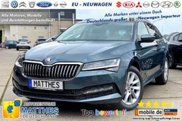 "Skoda Superb Kombi      Ambition :NAVIGATIONSFUNKTION   LED  E-Heck  16"" Alu  PD"