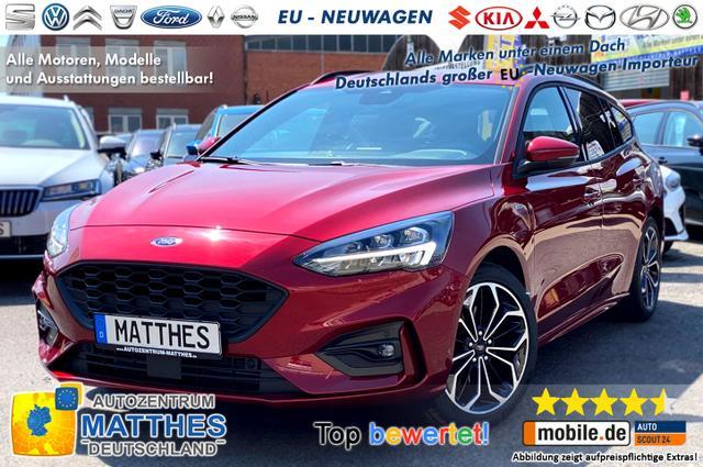 Bestellfahrzeug, konfigurierbar Ford Focus Turnier - AZM Cool & Connect Edt.:NAVI   WinterPak Parkpilot