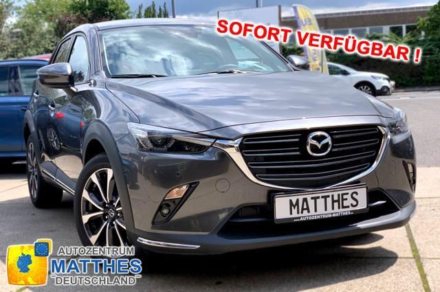 """Lagerfahrzeug Mazda CX-3 - Sports-Line :SOFORT/ nur diese Woche / begrenzte Stückzahl  LED-Scheinwerfer 18"""" Alu Head-Up PDC   Kamera"""