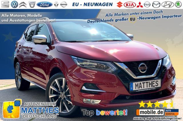"Bestellfahrzeug, konfigurierbar Nissan Qashqai -   Tekna :Panorama  19"" LED  NAVI  ParkAss Mit neuen EVAPO Motor!!!"