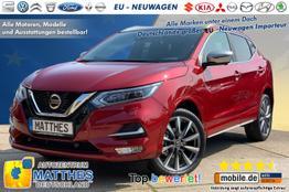 "Nissan Qashqai        Tekna :Panorama  19"" LED  NAVI  ParkAss Mit neuen EVAPO Motor!!!"