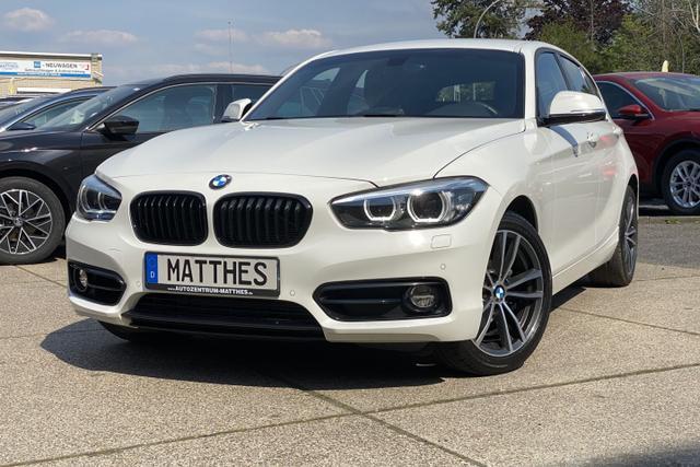 "Gebrauchtfahrzeug BMW 1er - i Edition Sport Line Shadow :SOFORT/ nur diese Woche / begr NAVI  LED  WInterPak  PDC v/h  Klimaauto  17"" Alu"