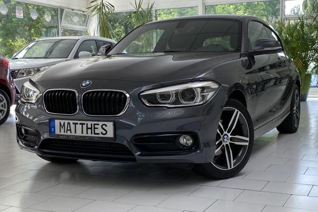 Gebrauchtfahrzeug BMW 1er - i Sport Line  LED  8-Fach bereift  Navi
