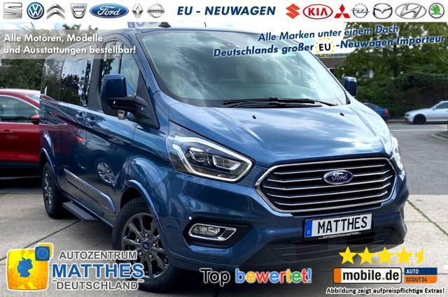 "Bestellfahrzeug, konfigurierbar Ford Tourneo Custom - Titanium X L1H1: NAVI  Kamera  XenonSW  WinterPak  Vollleder 17"""