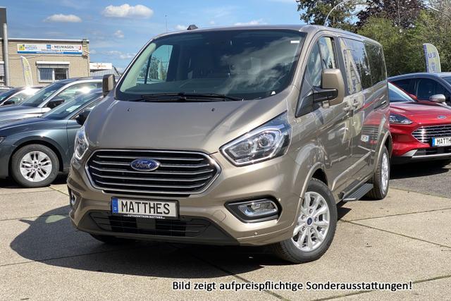 "Bestellfahrzeug, konfigurierbar Ford Tourneo Custom - Trend L2H1: Pdc v/h  LED Tag.  Tempomat 16"" Alu  Bluetooth"