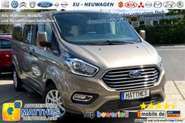 "Ford Tourneo Custom Bus - Trend L2H1: Pdc v/h  LED Tag.  Tempomat 16"" Alu  Bluetooth"