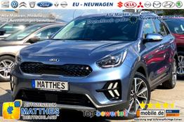 Kia Niro Hybrid (MY2020)      Vision PLUS :NAVIGATIONSFUNKTION   LED  Leder  WinterPak