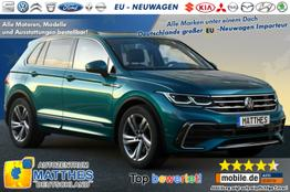 Volkswagen Tiguan Facelift 2021 - :MJ21  Alle Varianten Bestellbar