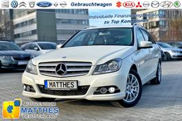 Mercedes-Benz C T-Modell GW - T CDI Avantgarde  PDC  TEILLEDER  NAVI