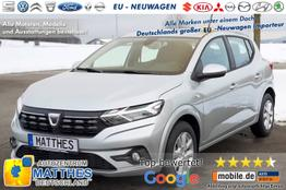 Dacia Sandero [MJ21] Aktion!      Essential :MJ21  LED  Radio  Tempomat