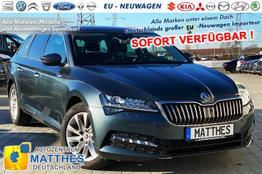 "Skoda Superb Kombi - AZM Style Edt. :SOFORT/ NAVI / Kessy El-Heck Parkhilfe v/h  WinterPak 17"" Alu SUNSET 2Z Klimaautomatik"