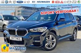 "BMW X1 - M-Sport: SOFORT  Panorama  NAVI  LED  Winterpaket  Parkhilfe  18"" Alu"