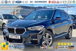 "BMW X1 - M-Sport: Panorama  NAVI  LEDER Sportsitze  LED  El-Heck  Winterpaket  Parkhilfe  18"" Alu"