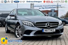 Mercedes-Benz C-Klasse Limousine - Navi Kamera Tempomat 9G