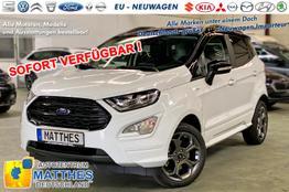 Ford EcoSport      ST-Line :SOFORT  NAVIG    Teilleder  WinterPak