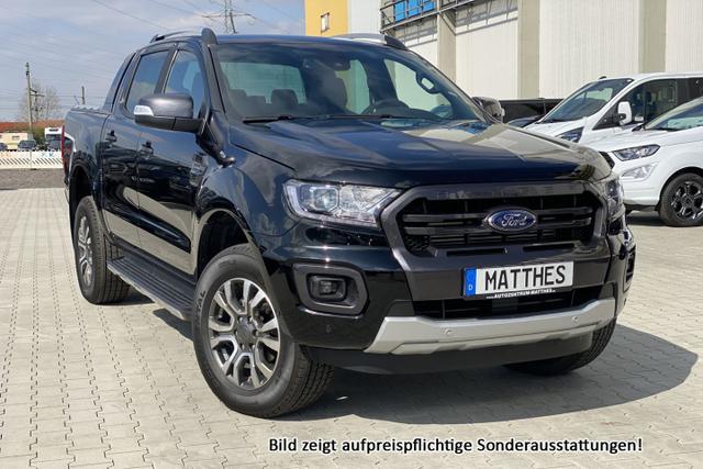 "Vorlauffahrzeug Ford Ranger - WildTrak :AHK  NAVI  Xenon  PDC v/h  KlimaAut  18""Alu  KAM  BT"