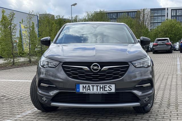 Gebrauchtfahrzeug Opel Grandland X - Design Line :SOFORT  NAVIGATIONSFUNKTION   Winterpaket Teilleder Flex-Paket  PDC v/h   LED