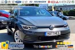 Volkswagen Golf 8 [Aktion]      Life   SOFORT  Handy-NAVI   WinterPak  3Z Klimaauto  LED