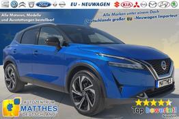 """Nissan Qashqai [MJ2022]      Tekna  :MJ22  Pano  Leder  BOSE  19""""  E-Heck  NAVI  WinterPak"""